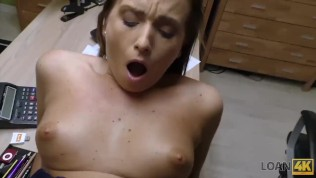 LOAN4K. Sex for cash gives cutie last chance of finishing college HD Porn Video