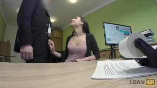 LOAN4K. Skinny miss pays with sex for realization of business plan HD Porn Video