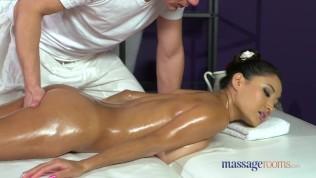 Massage Rooms Big natural tits brunette creampied Free Porn Video