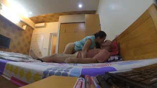 Real screaming Korean cheating house wife gets fucked hard and eats my cum HD Porn Video
