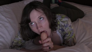 Teaching Daughter in Law How to Suck Husband's Cock