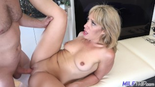 MILF Trip – Big dick fucks thick blonde MILF – Part 2