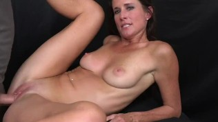 MILF Trip – Big shot of cum to the face for athletic MILF – Part 2