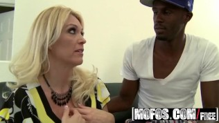 MOFOS – Blonde milf Charlee Chase wants that big black dick