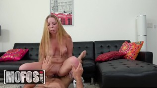 MOFOS – Cute ginger roller girl Macy Marx craves cock