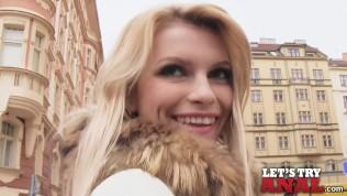 Mofos – Karina Grand – Sexy Blonde's First Anal Pounding