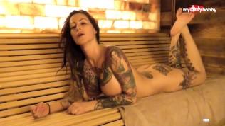 My Dirty Hobby – Busty tattooed MILF blows her man