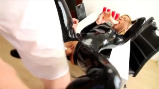 My Dirty Hobby – Daynia in Latex Catsuit II