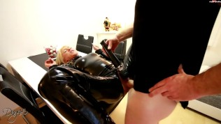 My Dirty Hobby – Daynia in Latex Catsuit III
