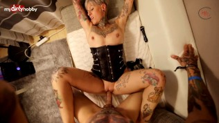 My Dirty Hobby – Mature tattoed babe gets slammed