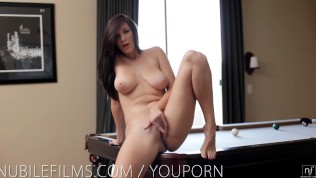 Nubile Films – Busty Holly Michaels makes her pussy cum