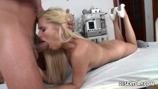 21Sextury Nurse Candee tempted to hospital sex