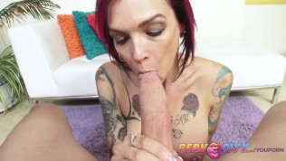 PervCity Deepthroating MILF Anna Bell Peaks Free Porn Video
