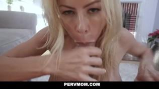 PervMom – Busty Mature Milf Fucks Her Stepson