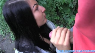 PublicAgent Sexy young women getting fucked outdoord by stranger