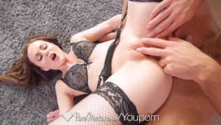 PureMature – Hot brunette Tina Kay has anal