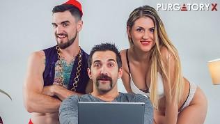 PURGATORYX Genie Wishes Part 2 with Vanessa Sierra HD Porn Video
