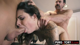 PURGATORYX I let my wife Sherly Queen fuck two guys in front of me HD Porn Video