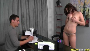 Reality Kings – First Time Auditions – Moaning Mouna