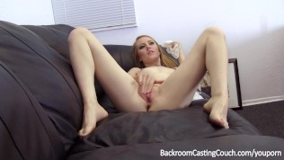 Redhead Footjob Queen Anal and Squirting Casting HD Porn Video