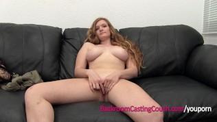 Redhead Teen 1st Anal & Ambush Creampie Casting HD Porn Video