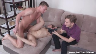 Sell Your GF – Coed fucked for student loan HD Porn Video