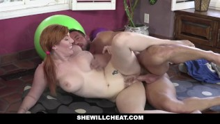 SheWillCheat – Cheating Ginger Wife Fucked By Personal Trainer