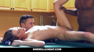 SheWillCheat – Horny WIfe Cheats with BBC