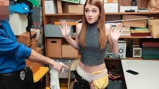 ShopLyfter – Teen Thief Fucked by Security Guard