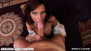 Syren De Mer is a MILF with a round ass who loves rough anal HD Porn Video