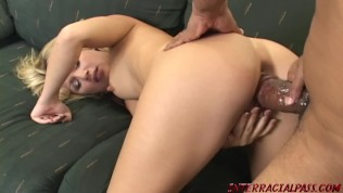 Teen PAWG pounded by big black cock