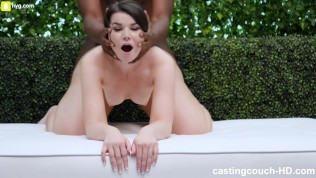 Thick White Girl Loved Fucking Her First Black Guy HD Porn Video