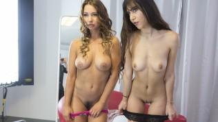 VIRTUAL TABOO – Two Sweet Teen Girls Masturbate Together