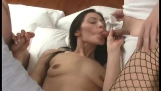 Wild GF Gets 2 Cocks Free Porn Video