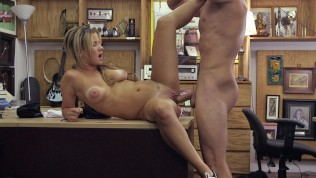 XXX PAWN – Waitress Desperate For Cash Ends Up Selling Her Ass