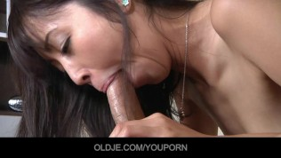 Young asian school girl pervert fucking her old teacher