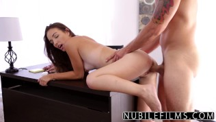 Young Passion Gets Small Pussy Filled With Cock