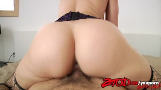 ZTOD – Anikka Albrite has a Big White Ass Free Porn Video