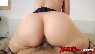 ZTOD – Anikka Albrite has a Big White Ass Free Porn Video