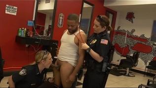 BLACK PATROL  – Robbery Suspect Apprehended In Barbershop By Maggie Green & Joslyn