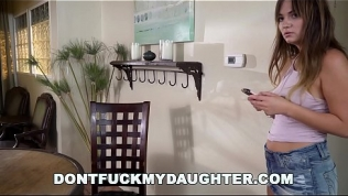DON'T FUCK MY DAUGHTER – Charlotte Cross Gets Plumber To Clean Her Pipes