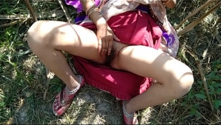 Lalita Singh desi Indian village  autdoor jungle boyfriend sex video