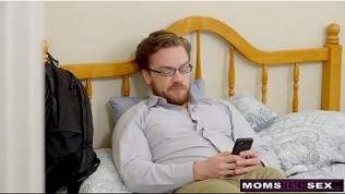 MomsTeachSex – Slutty MILF Makes StepSon Cum Inside! S8:E10 Free Porn Video
