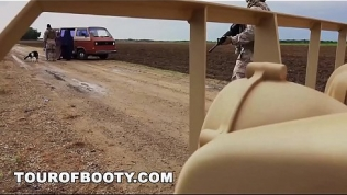 TOUR OF BOOTY – American Soldiers In The Middle East Negotiate Sex Using Goat As Payment