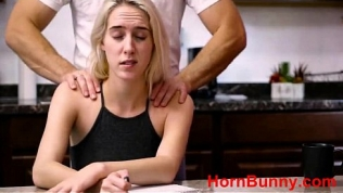 Cadence Lux in father gives daughter a massage Free Porn Video