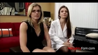 Playing doctor with mommy and sis Free Porn Video