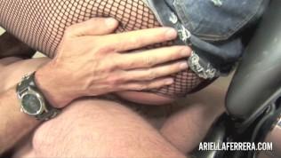 Ariella Ferrera Takes on Bikers Cock Free Porn Video