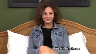 Cute Teen Ambushed by Black Cock Free Porn Video