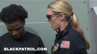 BLACK PATROL – Officers Maggie Green and Joslyn Bust A Black Peeping Tom