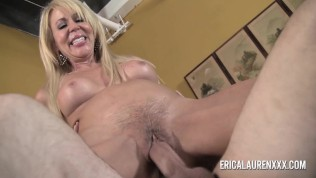 GFE Hot Blonde MILF and Young Stud Free Porn Video